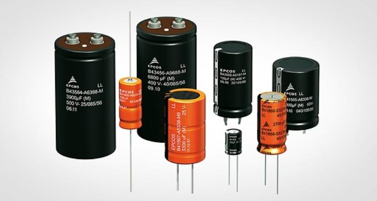 Condensadores electrolíticos de aluminio